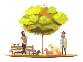 Hund Konzept Illustration vektor
