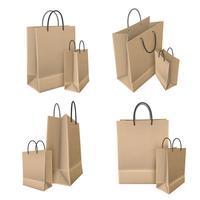 Einkaufstaschen aus Bastelpapier