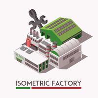 Fabriksisometrisk uppsättning