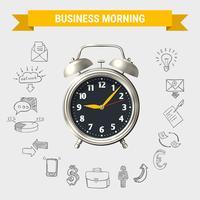 Geschäfts-Morgenrunde Zusammensetzung
