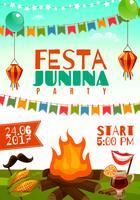 festa junina affisch