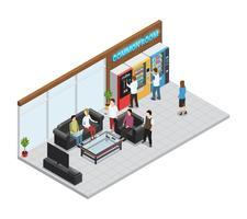 Verkaufsautomaten-Zusammensetzung vektor