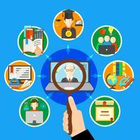 Söka på E-lärande