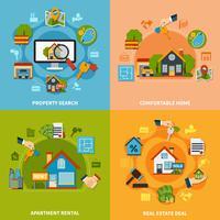 Real Estate-Design-Konzept
