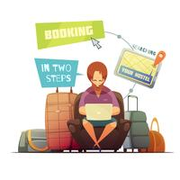 Hostel Booking Design Konzept