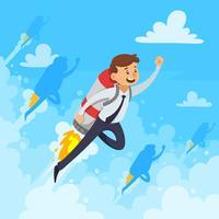 Schnelle Karriere-Design-Konzept