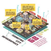 Regierungsgebäude Infographik Set vektor