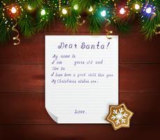 Bunte Weihnachtsdekorative Vorlage