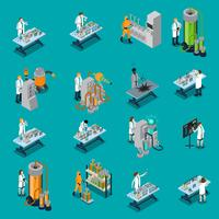 Vetenskapsmanikoner Set