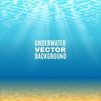 Unterwasser-Vektor-Hintergrund vektor
