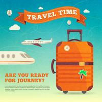 Reise-Illustrations-Plakat