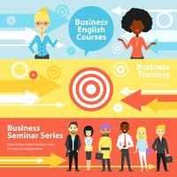 Business Training Horisontell Banners