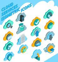 Inställningar för Cloud Services-ikoner