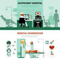 Medizinische Spezialisten Banner vektor