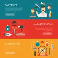 Barber horizontale Banner