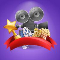 Kino Hintergrund Illustration