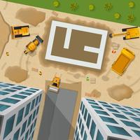 Konstruktion Top View Poster