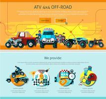 Offroad-Seitendesign