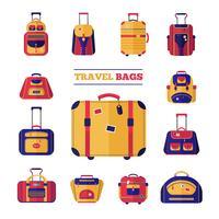Bagage resväskor Set