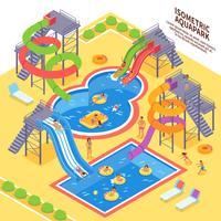 Aqua Park Abbildung vektor