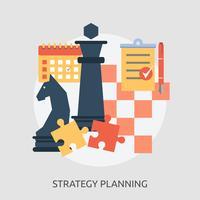 Strategisk planering Konceptuell illustration Design