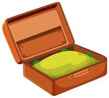 Ein Gras im Koffer