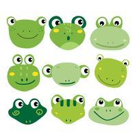 Frosch-Charakter-Vektor-Design