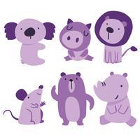 Tiere Charakter Vektor Design