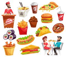 Fast-Food-Set