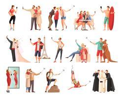 Selfie Moderne Lifestyle-Kollektion