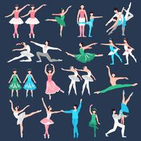 Ballettdansare Set