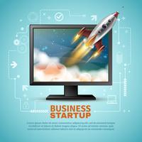 företagsstartillustration
