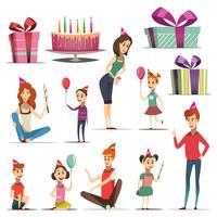 Barnfödelsedagsuppsättning