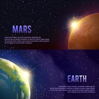 Sonnensystem-Banner eingestellt