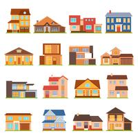 Cottage House Gebäude Set