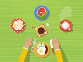 Küchen-Draufsicht-Plakat