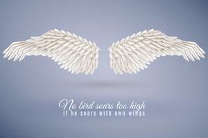 Realistisk Bird Wing Set