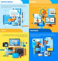 Koncept ikoner för grafisk design
