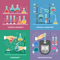 Chemisches Laborkonzept vektor