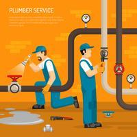 Inspektion der Pipeline-Zusammensetzung vektor