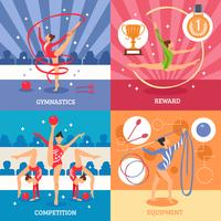 Konst Gymnastik 2x2 Design Concept