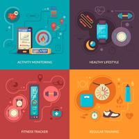 fitness tracker 2x2 designkoncept