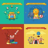 Cirkus platt set