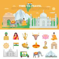 Indien-Reise-Set