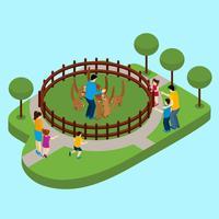 Kontakta Zoo Illustration
