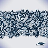 Mallramdesign för kort. Lace Doily. Kan användas för förpackningar, inbjudningar och mallar. vektor