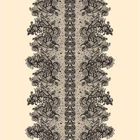 Abstraktes Spitze-Band-nahtloses Muster.