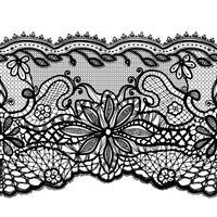 Vector Lace Doily. Kan användas för förpackningar, inbjudningar och mallar