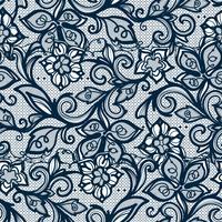 Schablonenrahmendesign für Karte. Spitzendeckchen. vektor