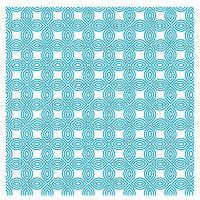 Blå Nice Pattern Design 22